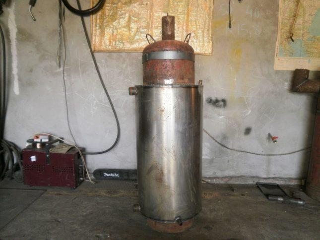 Мұржалар газ цилиндрлі қазандығы