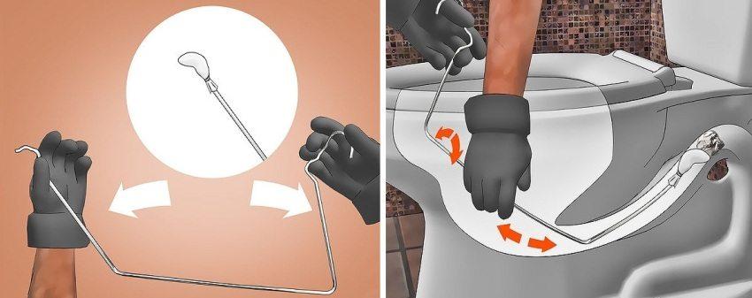 Punching de blocaj în papusa de toaletă