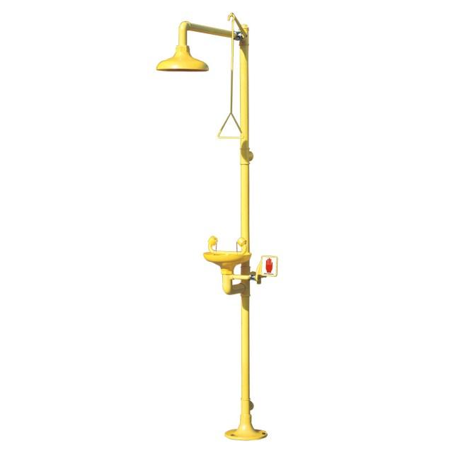 Indoor Combination Shower (Galvanised)