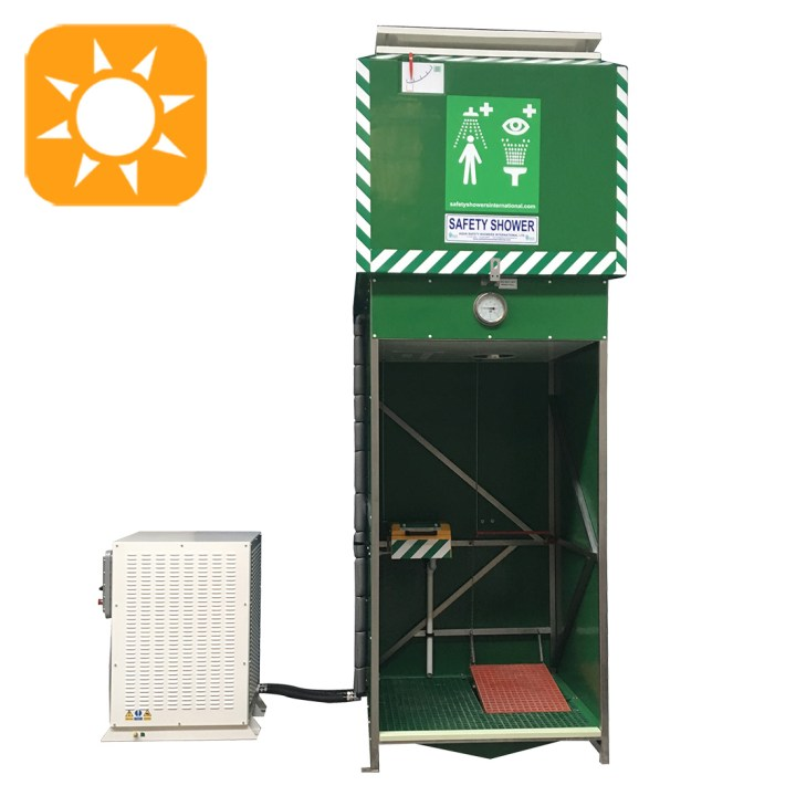 Tank Shower with Water Chiller (Hazardous Area)