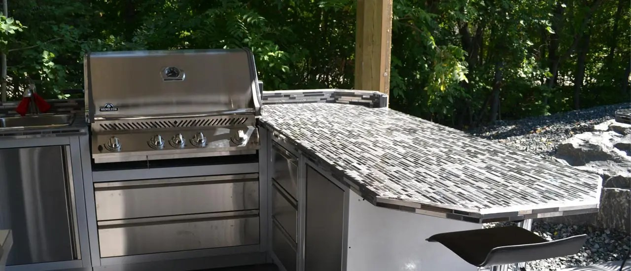 outdoor kitchens plastic kitchen containers bbq winnipeg aqua tech