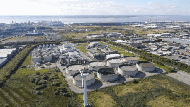 Saltend Wastewater Treatment Plant