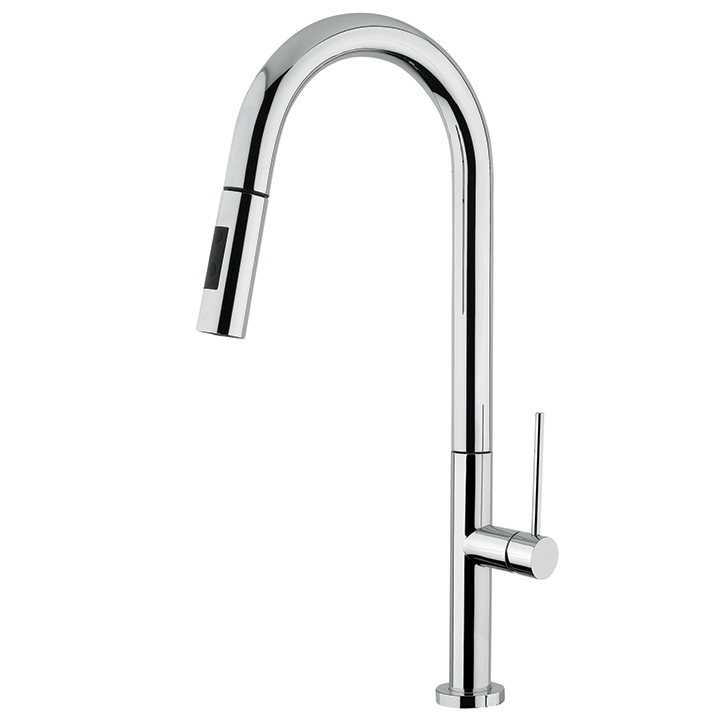 pull down dual stream mode kitchen faucet
