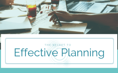 The Secret to Effective Planning