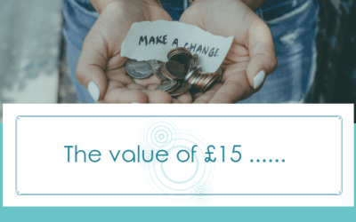 The value of £15………