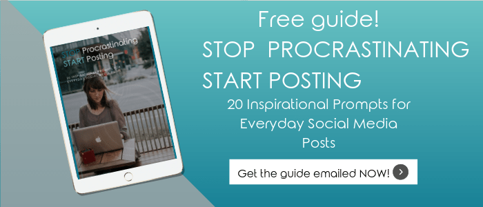 Stop Procrastinating Start Posting Guide