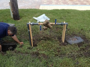 A Commercial Backflow Installation