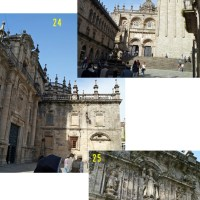 Traveling to Spain and Portugal 28: Santiago de Compostela of pilgrimabge 2, October 21