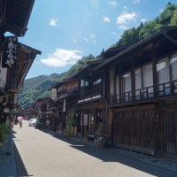 Visited a southern part of the Shinshu region 1:  Narai-juke, a post town