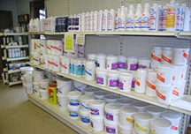 pool and spa supplies and chemicals