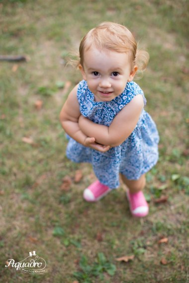little girl, blue dress, child photography, pink sneakers