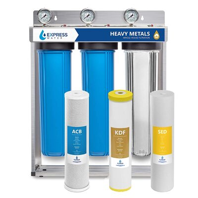 best iron filters for well water 12