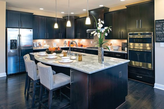 Backsplash For Dark Cabinets And Light Countertops Aspen White Granite For A Timeless Kitchen Design