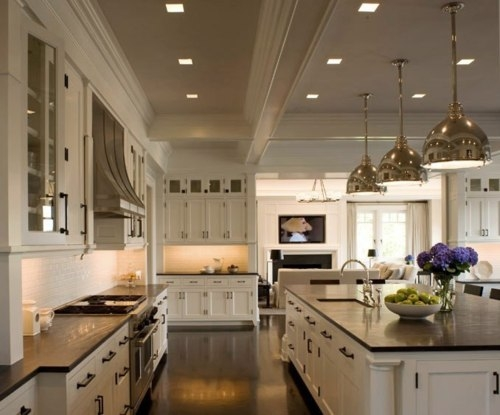 granite kitchen countertops pictures floor ideas black luxurious look for kitchens a daring touch of sophistication to the