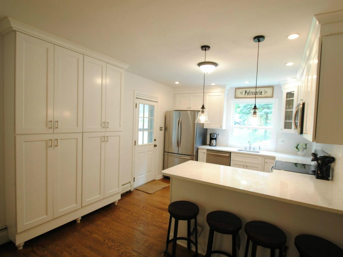 Wolf York White  Aqua Kitchen and Bath Design Center