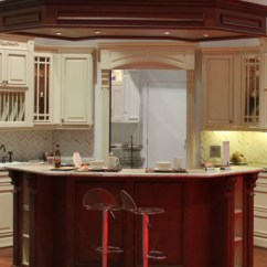 Discount Kitchen Cabinets Nj Island Seats 6 Fabuwood Wellington Cinnamon [solid Wood ...