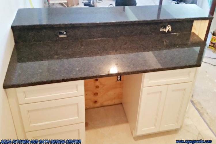 Steel Gray Granite Low Maintenance StainFree ScratchFree