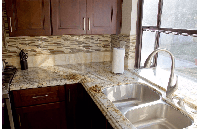 kitchen granite ideas outdoor design how to pair your with a backsplash