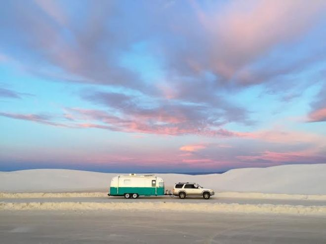 white sands airstream