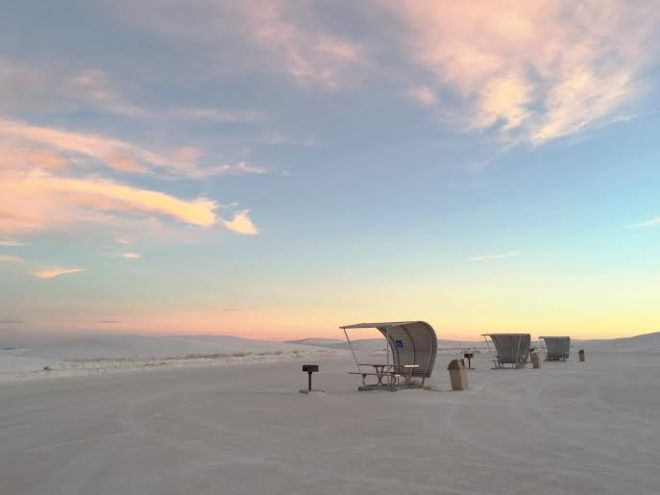 white sands rest stop