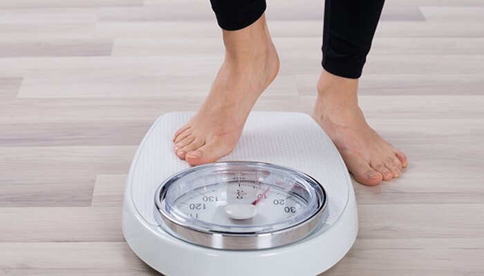 Weight gain is a suspicious sign of a hormone imbalance