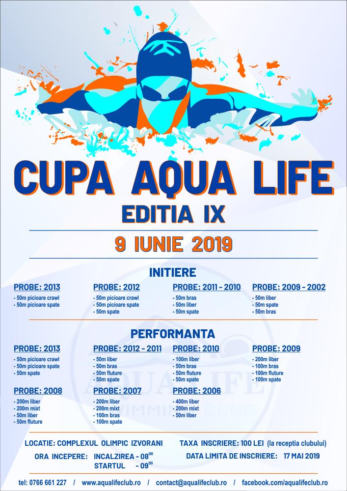 Cupa AQUA LIFE editia IX
