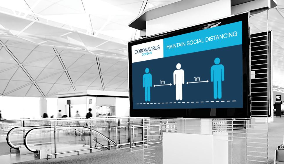 Digital Signage Display Screens For Clinics & Hospitals