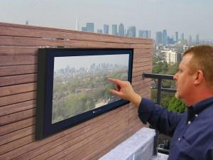 Outdoor Tousch Screen TV