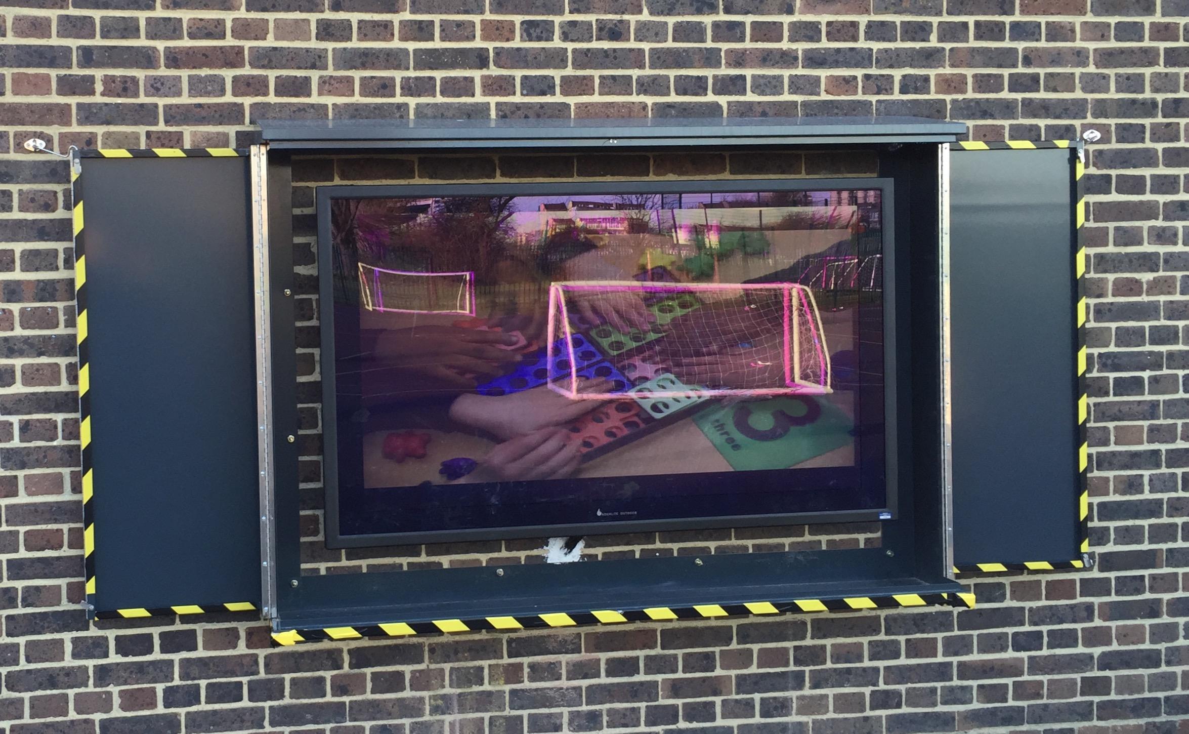 Outdoor TV Enclosures  Outdoor TV Security Enclosure