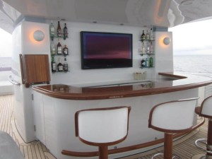 Luxury Yacht Home Cinema