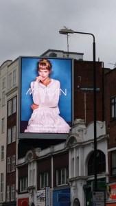 Extra Large TV Advertising Display