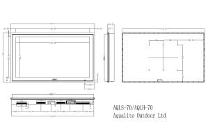 AQLH-70 Outdoor TV