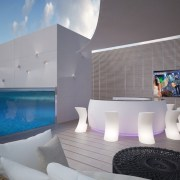 Swimming Pool TV Screens