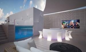 Water, Moisture & Condensation Proof TV Screens