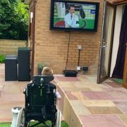 Outdoor TV Screens For Patio & Pool Areas