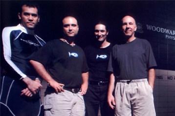 Pete Romano (à droite/right)