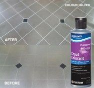 Silver Grout Colorant