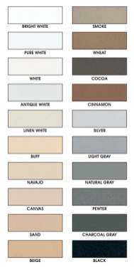 grout colorant colour chart
