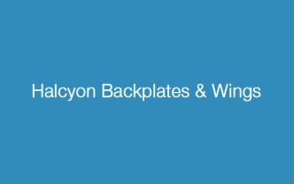 Halcyon Backplates & Wings