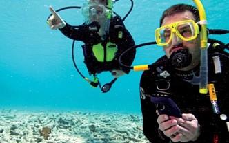 Unterwasser-Navigation