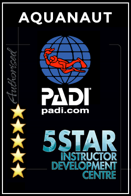 Aquanaut Scuba PADI 5 star rated instructor development centre london