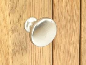 Silver Door Knob Close Up