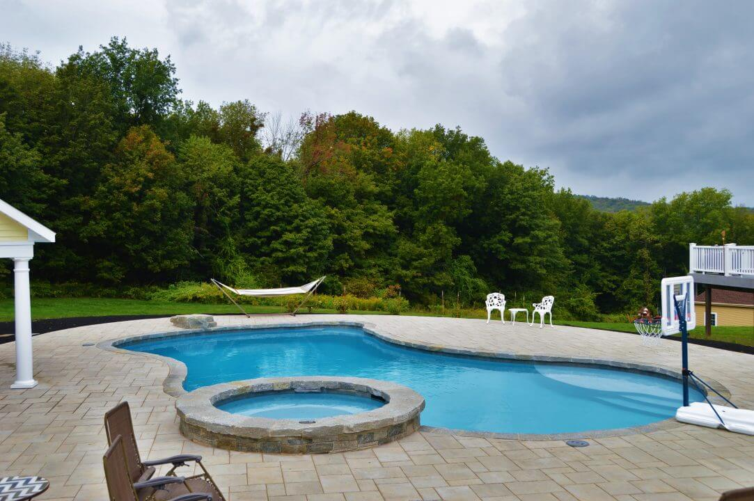 The Durability of Gunite Pools  Aqua Pool  Patio  Inground Pools CT