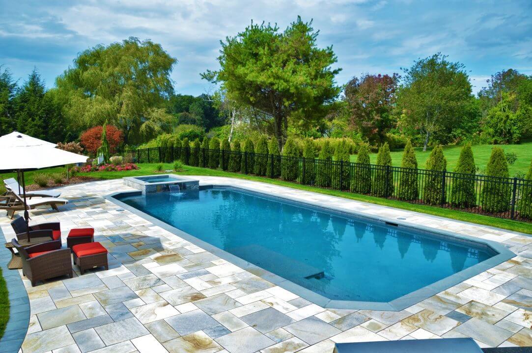Why An Inground Pool  Aqua Pool  Patio  Gunite Pool Construction CT