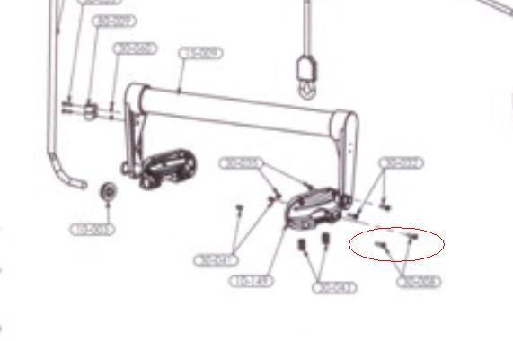 2261 Screw, M5X16, S/S, CH-PH