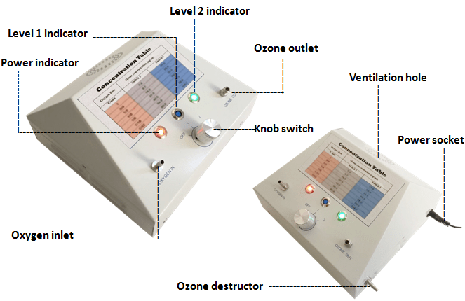 Ozone Gnerator Details AOT-MD-500