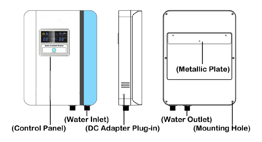 Laundry ozone water purifier