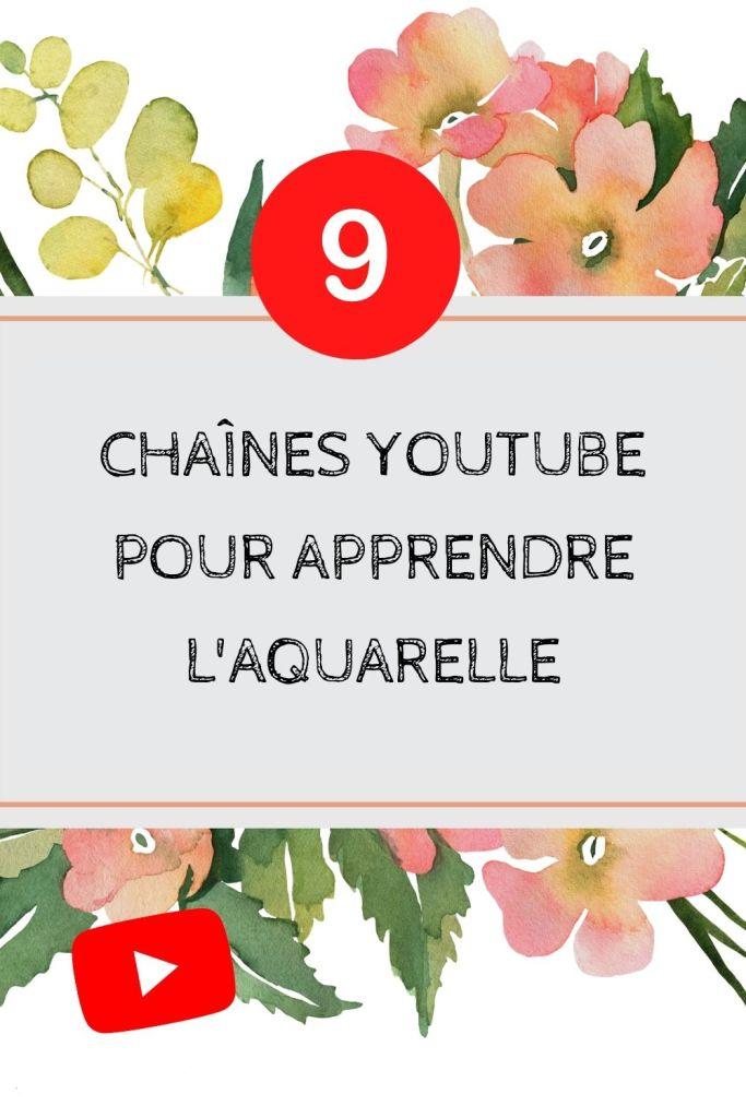 Cliquez pour découvrir 9 chaînes YouTube pour apprendre l'aquarelle et tout en français. Des vidéos pleines de conseils donné par des artistes peintres. Pratiquez votre aquarelle en suivant des tutoriels faciles à réaliser et permettant d'acquérir les bases de l'aquarelle en se faisant plaisir.