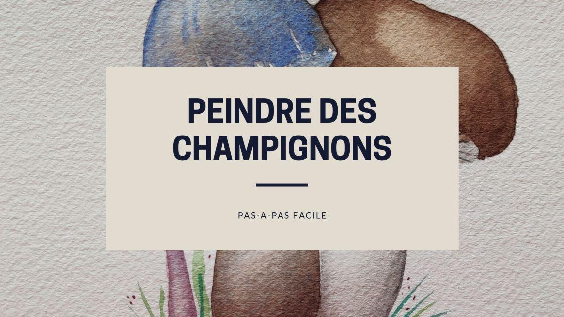 Article peindre-champignons-aquarelle-pasapas-facile
