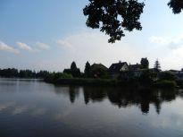 waldviertel, gmünd, see, lake, teich, pond, landschaft, landscape, paysage, lac, spiegelung, reflection, réflexion, birken, birch trees, trees, bäume, bouleau, arbres